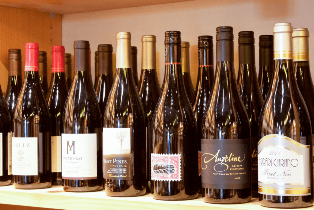 Cru Wine Bar Selection